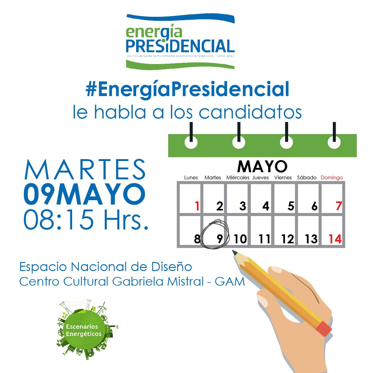 #EnergíaPresidencial le habla a los candidatos