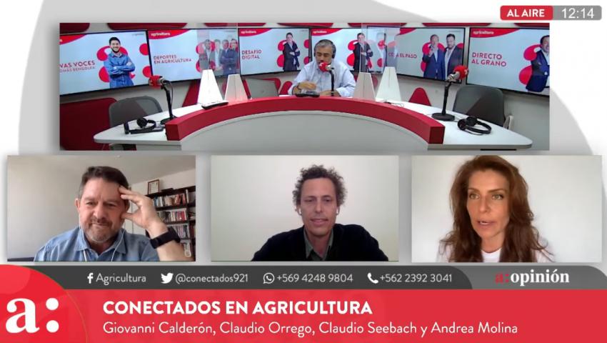 Claudio Seebach en Conectados de Agricultura