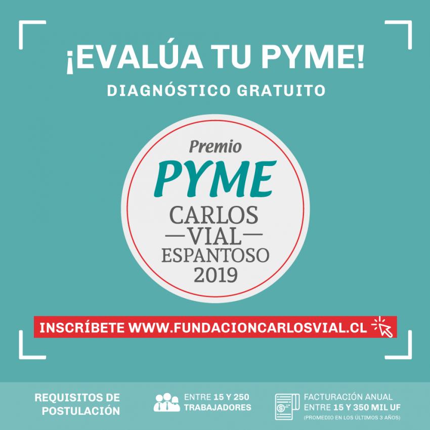 Inscripciones Premio Pyme Carlos Vial Espantoso 2019