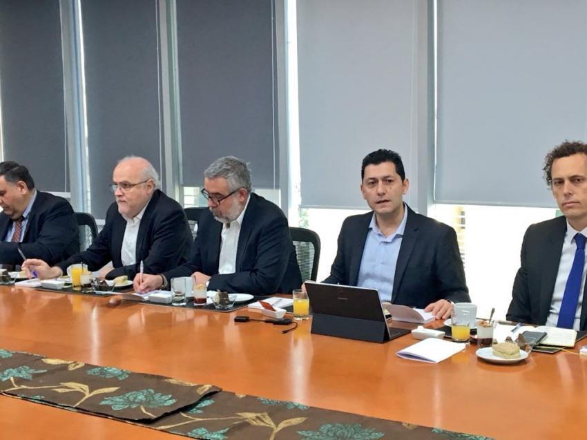 Coordinador Nacional se reúne con los gremios del sector y se enfocan en los avances logrados por el organismo.
