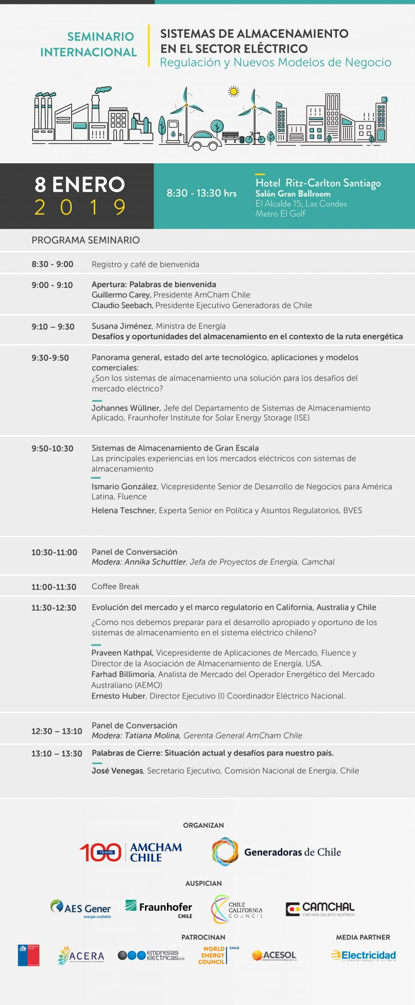 Programa Seminario Internacional Almacenamiento