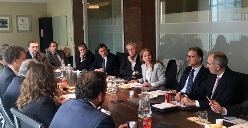 Directorio de Generadoras recibió a la Ministra de Energía, Susana Jiménez