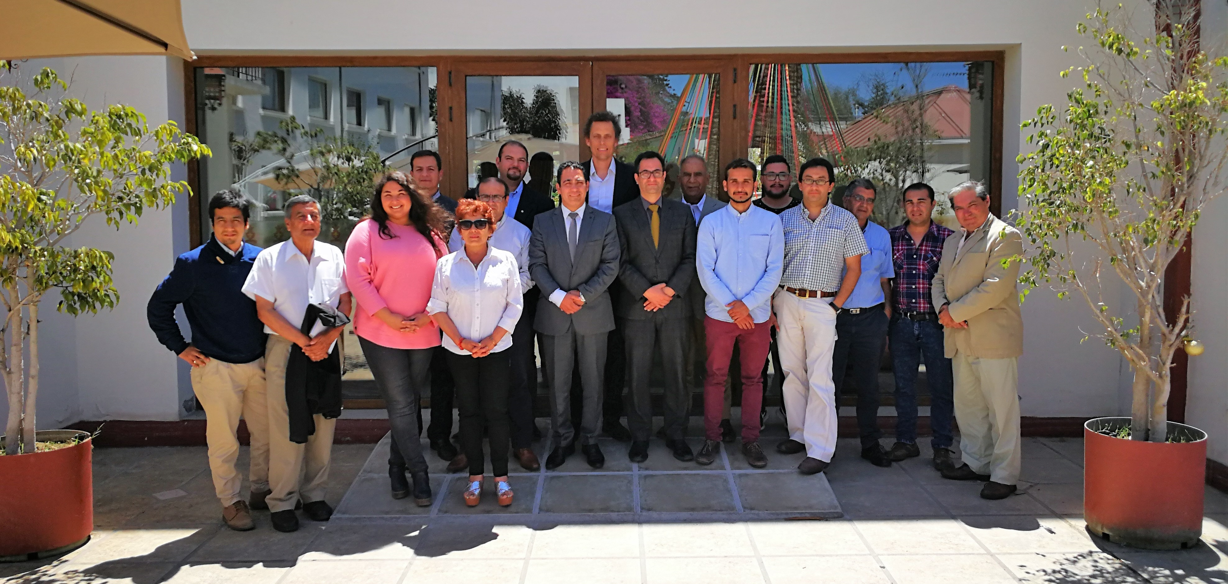 Claudio Seebach en Taller para periodistas en La Serena: