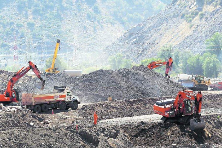Tras reestructuración, obras de Alto Maipo suman 68% de avance