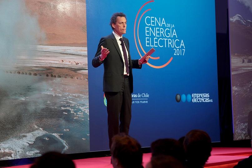 Discurso Claudio Seebach en Cena de la Energía Eléctrica 2017