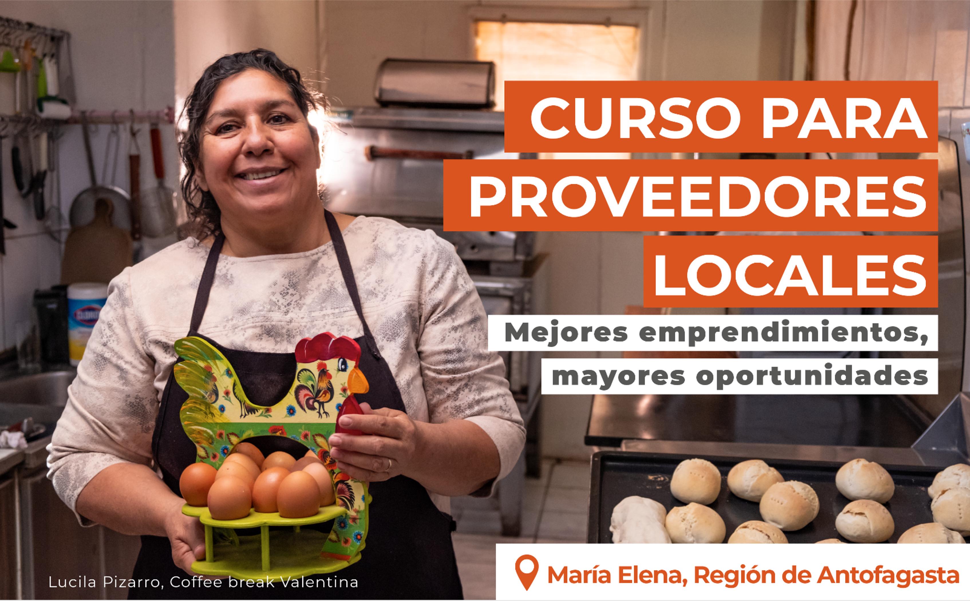 Curso para proveedores locales: Mejores emprendimientos, mayores oportunidades