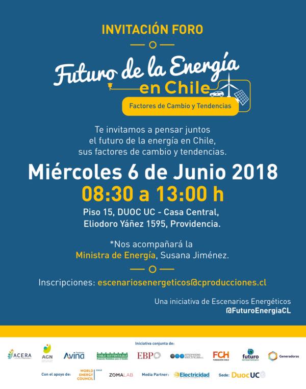 Seminario Futuro de la Energía en Chile
