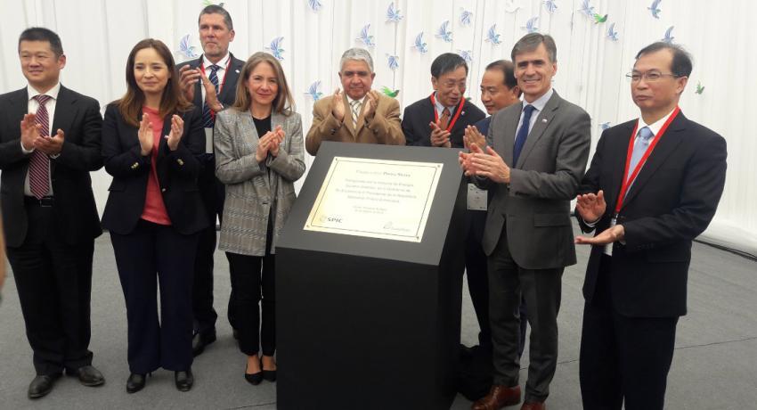 Pacific Hydro inauguró Parque Eólico Punta Sierra