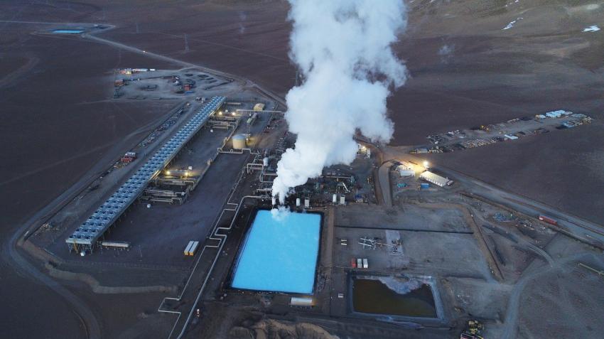 ENEL y ENAP inauguran Cerro Pabellón, la primera planta geotérmica de Sudamérica