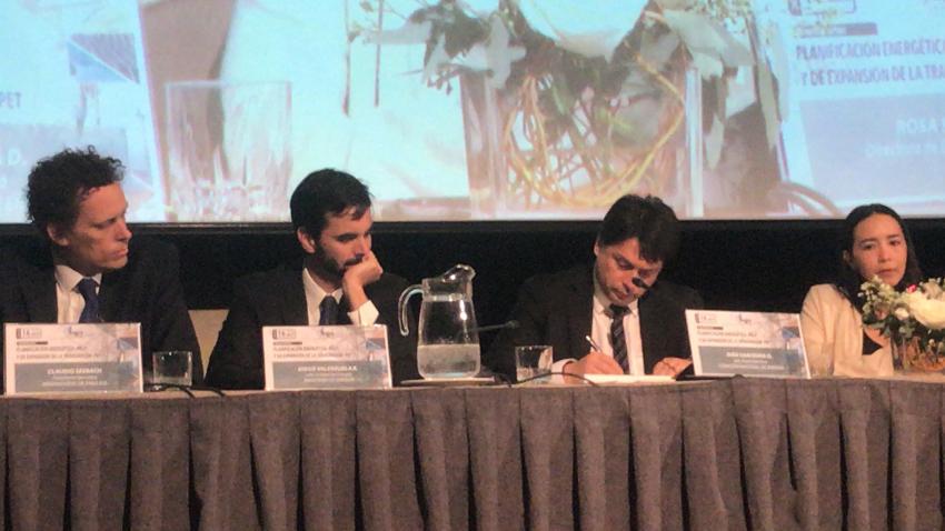 Presidente Ejecutivo de Generadoras participó en Seminario CIGRÉ