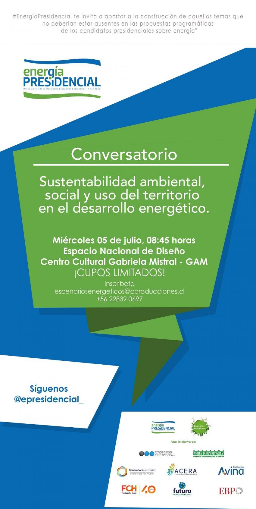 #EnergiaPresidencial Conversatorio 1
