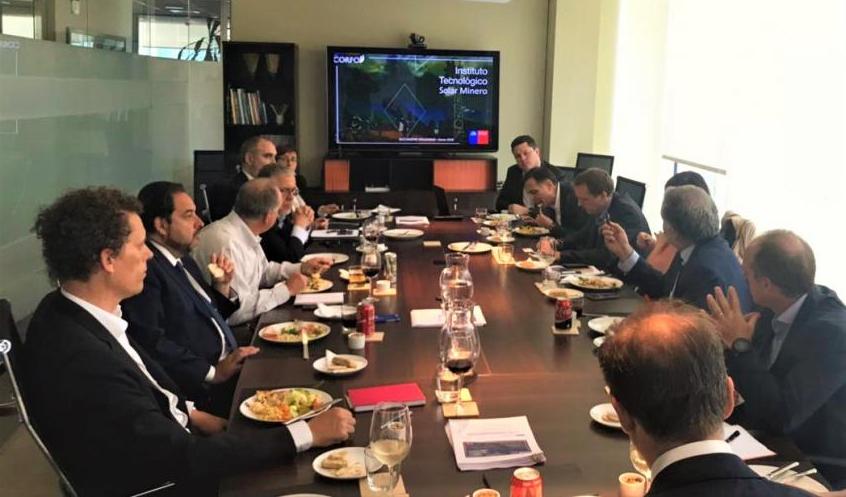 CORFO invita a generadoras a participar en proyecto que crea el Instituto Tecnológico Solar Minero